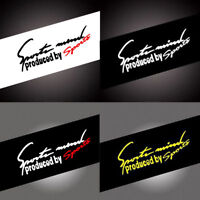 Funny Car Window Stickers Letter Color Mark Auto Body Decal Stickers PVC Vinyl