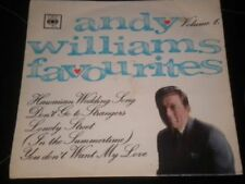 Vinyles EP Andy Williams