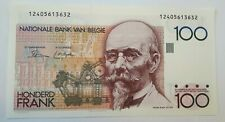 100 Francs Frank 1982-1994, KM:142a, Belgique Belgïe TTB  Choose Signature !!!!