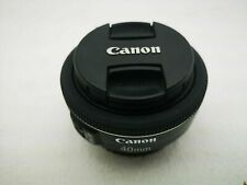Canon EF 40mm F2.8 STM Pancake Lens -  sold with Front & Rear Caps