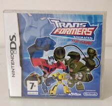 TRANSFORMERS ANIMATED THE GAME - DS  SIGILLATO NUOVO VERSIONE ITALIANA 2DS E 3DS