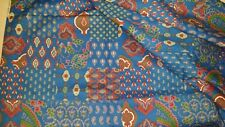 VINTAGE CRANSTON PRINT WORKS FABRIC SOLD BY THE YARD COTTON QUILTING PAISLEY