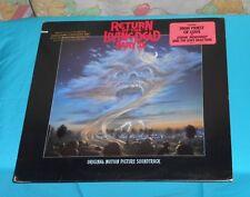 original RETURN OF THE LIVING DEAD PART II SOUNDTRACK vinyl record lp