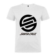 Camiseta tipo Santa Cruz para Hombre y Mujer Verano Skater Tallas Etnies Ecko