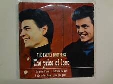 "EVERLY BROTHERS: Price Of Love +3-U.K. 7"" 1965 Warner Bros. Pye WEP 604 Mono PCV"