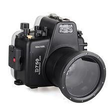 Meikon 60m/195ft Waterproof Underwater Camera Housing Case Diving for Nikon D750
