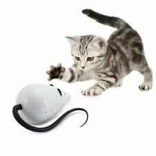 Cat Toy Mouse Interactive For Your Cats Fun Noises Red Eyes Long Tail Great Fun