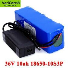 36V 10000mAh Lithium Battery pack 20A BMS Motorcycle car Scooter with 2A Charger