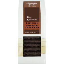 Philadelphia Candies Cinnamon Graham Crackers, Dark Chocolate Covered 9 Oz Gift