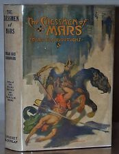 1ST/1ST GROSSET & DUNLAP W. ORG DJ~ THE CHESSMAN OF MARS – EDGAR RICE BURROUGHS