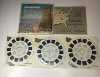 Vintage View-Master SCENIC USA (A996) – 3 reels & Booklet
