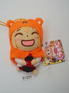 "Himouto! Umaru chan B1201 Doma Furyu Strap Mascot Plush 4"" TAG Toy Doll Japan"