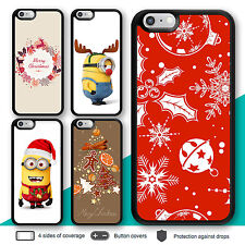 iPhone X 8 7 Plus 6 Case minion Christmas I Print Cover for Apple SE 5s 5c 4