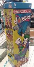 DC HeroClix Jokers Wild (1) 5-Figure Booster Box Pack Sealed NEW