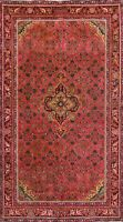 4x7 Antique Traditional Geometric Area Rug Hand-knotted Wool Oriental Home Decor