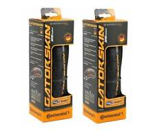 Set of 2, Continental Gatorskin 700 x 25c Folding Clincher Tires, 700 x 25mm