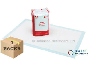 Readi Disposable Incontinence Bed pads 60x90cm - Box of 100 1700 ml Absorbency
