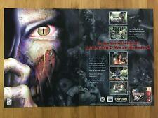 Resident Evil 2 Nintendo 64 N64 PS1 1998 Vintage Print Ad/Poster Art Official RE