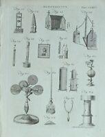 1783 Original Estampado Electricidad Varios Apparatus Maquinaria