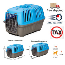 New listing MidWest Homes for Pets Spree Travel, Pet's Carrier, Small Animal Carrier in Blue