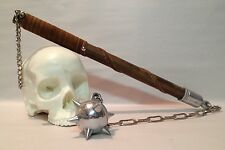 Medieval Mace Flail Morning Star  Spiked Steel Ball