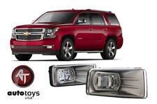 ATU 2007 2014 GM SIERRA 2500HD Clear LED Bumper Fog Lights Driving Lamps   SET