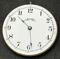 Elgin Pocket Watch Movement 6s 7j Grade 95 Model 1 Wind Up And Ticking F5511