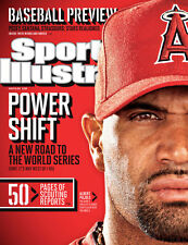 March 26, 2012 Albert Pujols, Anaheim Angels Sports Illustrated A
