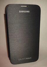 Samsung Galaxy Note II 2 Protective Flip Cover Case - Titanium Grey