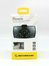 "New Scosche Hd Dvr Dash Cam (Ddvr28G) Safetech 2.4"" Tft Screen 8Gb Micro Sd"
