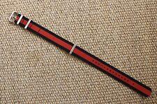 Tag Heuer FC8188 Formula 1 Watch Mens Red Black 20mm NATO Strap Mint CAZ1112