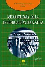 METODOLOGÍA DE LA INVESTIGACIÓN EDUCATIVA. ENVÍO URGENTE (ESPAÑA)
