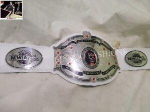 National Wrestling Alliance NWA Womens World Championship White Leather Belt