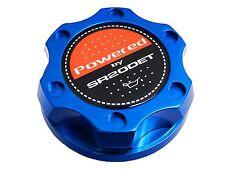 BLUE SR20DET TURBO V2-STYLE BILLET ENGINE OIL CAP FOR NISSAN INFINITI