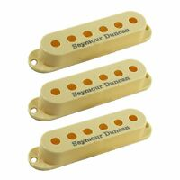 Seymour Duncan S-Cover Cream Replacement Guitar Pickup Cover 3-Pack with Logo