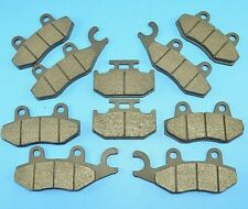 Front+Rear+Parking Brake Pads for Yamaha YXR 700 Rhino 700 4x4 2008-2011 09 10