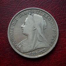 Victoria 1897 LXI silver crown