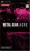 PSP METAL GEAR ACID Japan PlayStation Portable F/S