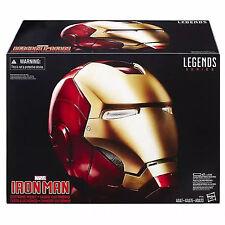 Nuevo Casco con Cambiador de voz electrónico Cosplay de Iron Man Los Vengadores