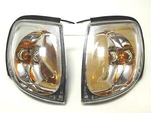 for TERRANO II 1999-2006 turn signal blinker lights pair Left Right HROME