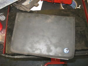 VOLKSWAGEN SERVICE BOOK/PACK EARLY GOLF TDI