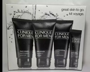 BrandNew Sealed Clinique For Men Great Skin To Go Set - Normal to Dry Skin 4 Pcs
