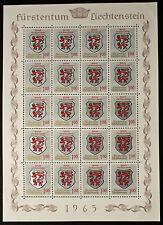 Sello LIECHTENSTEIN Stamp Yvert y Tellier nº402 x20 De Hecho De La Hoja N Y5
