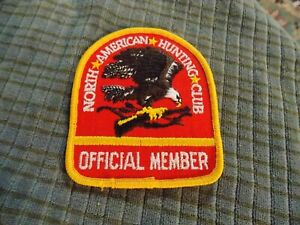 """Vintage NRA Official Member PATCH Collector 3"""" VG !"""