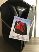 Transpack Alpine Jr. Boot Backpack - Black; Silver