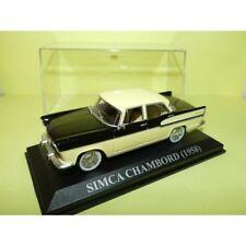 SIMCA CHAMBORD 1958 Noir et Crème ALTAYA 1:43