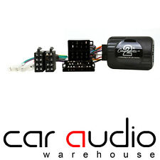Fiat 500 2007 On CLARION Car Stereo Radio Steering Wheel Interface Control
