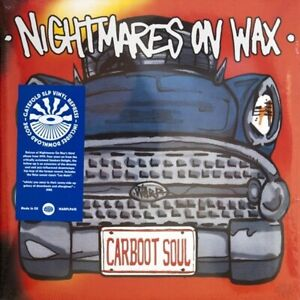 NIGHTMARES ON WAX CARBOOT SOUL vinyl 2 LP + DOWNLOAD GATEFOLD Record SEALED/BRAN