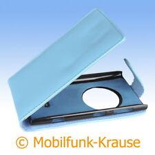Flip Case Etui Handytasche Tasche Hülle f. Nokia Lumia 1020 (Türkis)