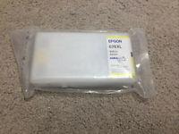 Epson 676XL Yellow Ink Cartridge Genuine Authentic Printer Sealed